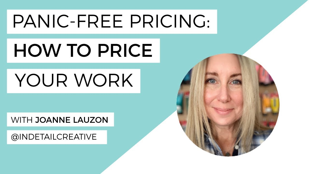 Panic-Free Pricing: How To Price Your Work - The Happy Ever Crafter