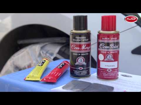 How to touchup your car scratches – Spray Paint