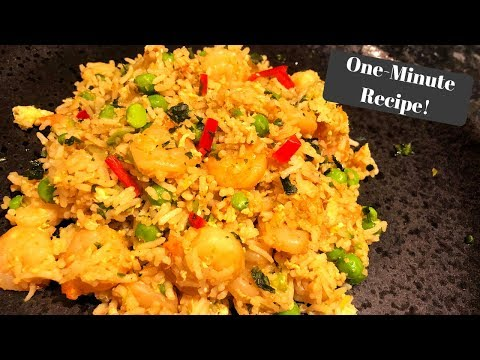 SLIMMING WORLD SYN FREE PRAWN FRIED RICE I One-Minute Recipe!