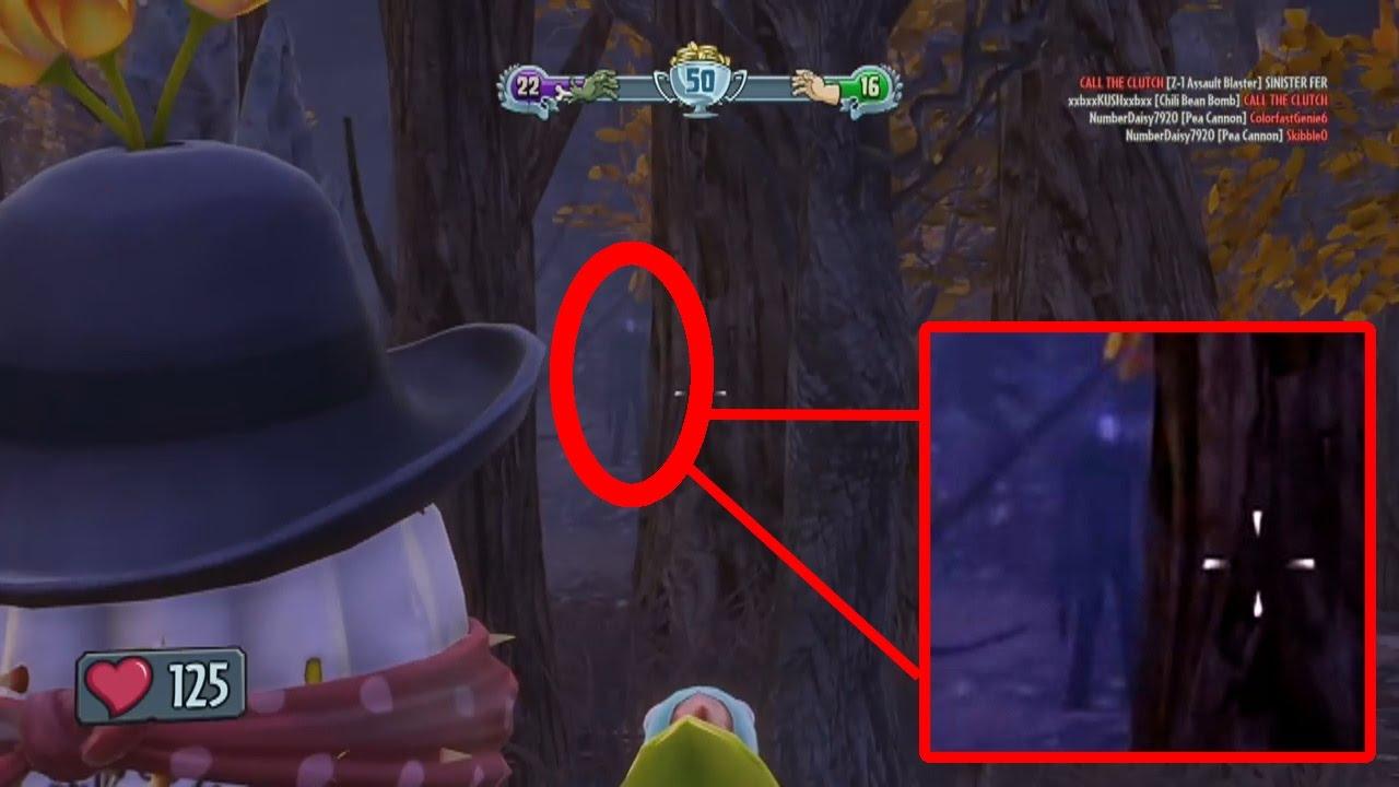 Wallpaper Gravity Falls 191 Slenderman En Plantas Vs Zombies Garden Warfare 191 Verdad