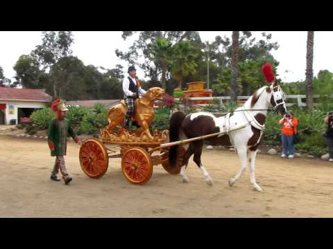 """Breyer 2012 Collector Event """"Passage to the Pacific"""" - Circus Parade at Scripps Miramar Ranch"""