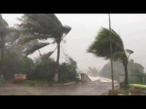 Cyclone Enowa Madagascar Diego Suarez