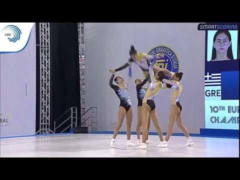 Greece - 2017 Aerobics Europeans, junior group final