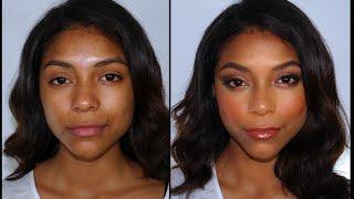 Maquillaje Sexy y Luminoso para Pieles Oscuras Trigueñas y Negras