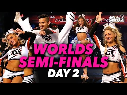 Cheer Full Out: Worlds Semi Finals, Day 2 | Ep. 19 | Skitz TV