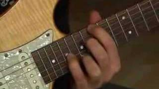 Mr Brightside by the killers guitar session