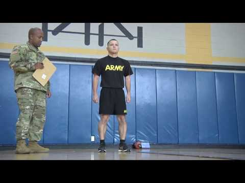 Army Occupational Physical Assessment Test Demonstration