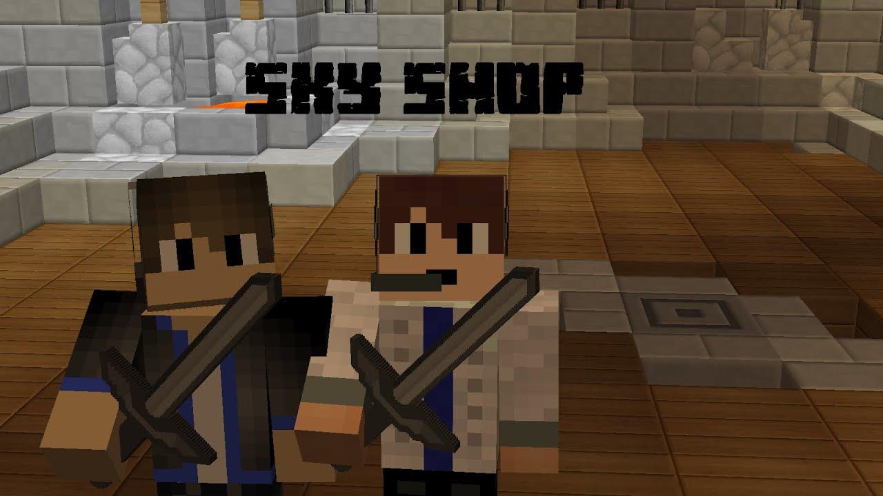 Sky Shop Minecraft Skyblock Map YouTube - Minecraft skyblock kostenlos spielen ohne download