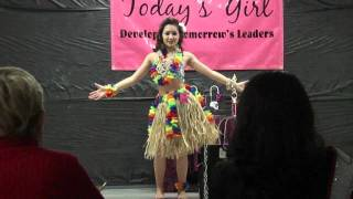 "Pageant Talent ""Hawaiian dance"" *Pearly shell"