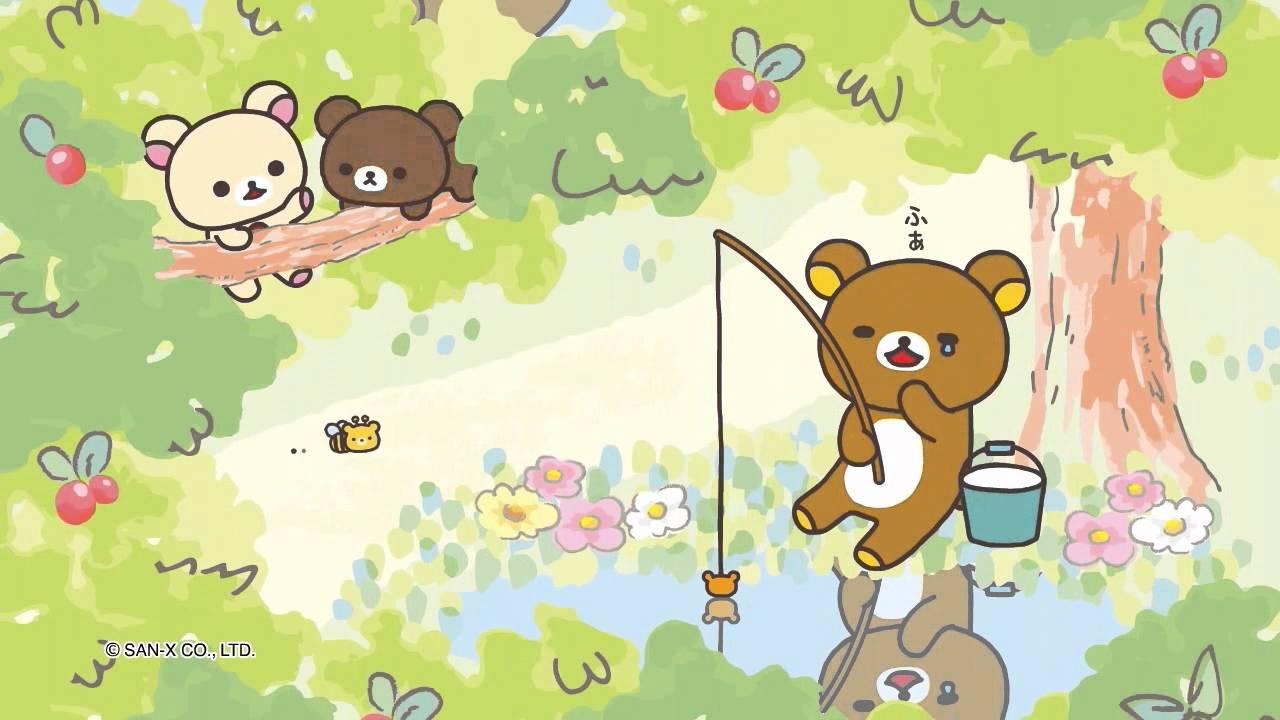 Cute Rilakkuma Wallpaper 「コリラックマと新しいお友達」テーマ Youtube
