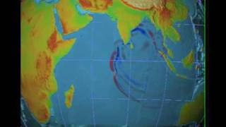 NOAA 2004 Indian Ocean Tsunami Simulation