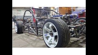 Открытый-Лёгкий Родстер V8 6.2 литра 500 л.с. от КОЛЁС ПОБЕДЫ