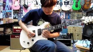 ปั่นกีตาร์ แจม อิมโพรไวส์ ในสเกลอีไมเนอร์ Shred Guitar - E Minor Jam In The Style Of Chatreeo