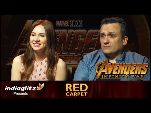 EXCLUSIVE : Avengers  Infinity War Making   Karen Gillan & Director Joe Russo