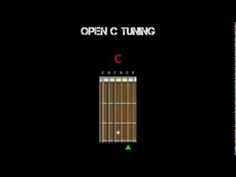Guitar Tuning - Open C