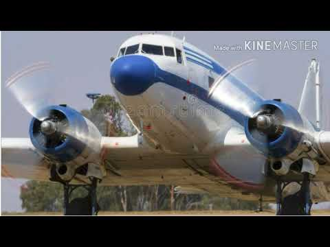 """"""" The first DC 3 aircraft """" ( Douglas Commercial )"""