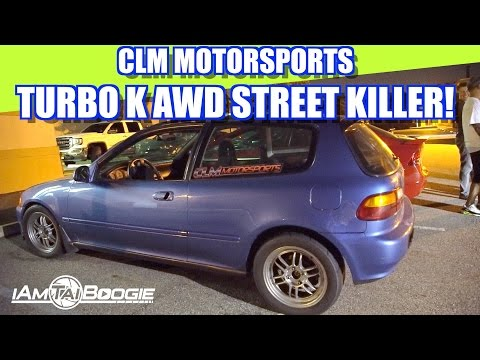 AWD TURBO CIVIC STREET KILLER BEATING GTR MUSTANG PORSCHE HIGHWAY
