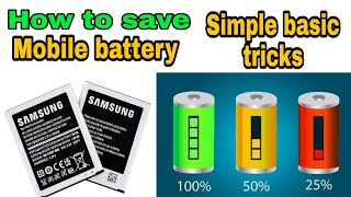 How to prevent your mobile battery | Tamil |
