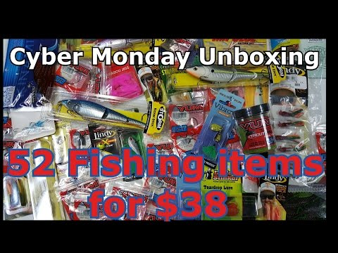 Unboxing Fishing Tackle, Lures, and Gear - Outlet Bait and Tackle