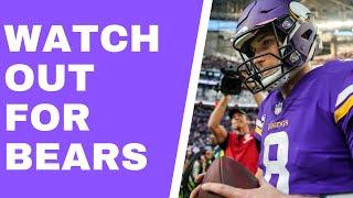 Kirk Cousins vs Bears defense: Can Kirk escape unscathed? (Vikings Vent Line)
