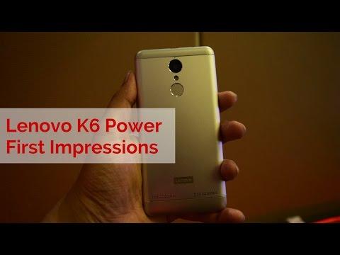 Lenovo K6 Power Review Videos
