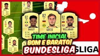 FIFA 20 | TIME INICIAL BOM E BARATO ( BUNDESLIGA )