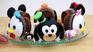 Disney TSUM TSUM Cupcakes  | How To Make by Cakes StepbyStep