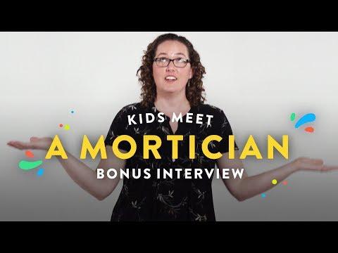 Kids Meet a Mortician (Bonus Interview) | Kids Meet | HiHo Kids