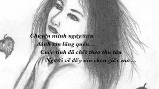 Mắt Thu (onscreen lyrics) by Ý Lan