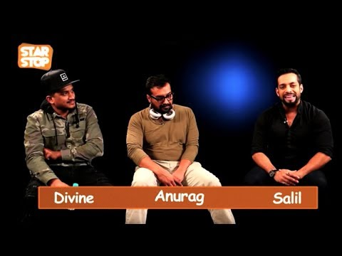 Divine and Anurag Kashyap  ( Exclusive Interview )   B4U Star Stop