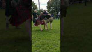 Zane Grey Wrestling At Highland Games - Glasgow Green - 12-08-17-3
