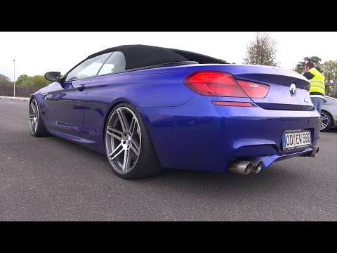 Manhart BMW MH6 700 M6 Stage 4 - Revs & Accelerations!