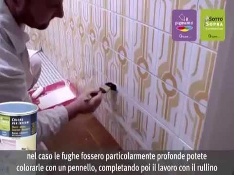 Verniciare Vasca Da Bagno : Rinnovare il bagno verniciare il bagno le piastrelle youtube