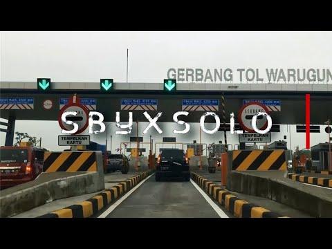 Tol Trans Jawa - Solo Ke Surabaya 3 Jam Saja #TolTransJawa #LiburNatal #TahunBaru
