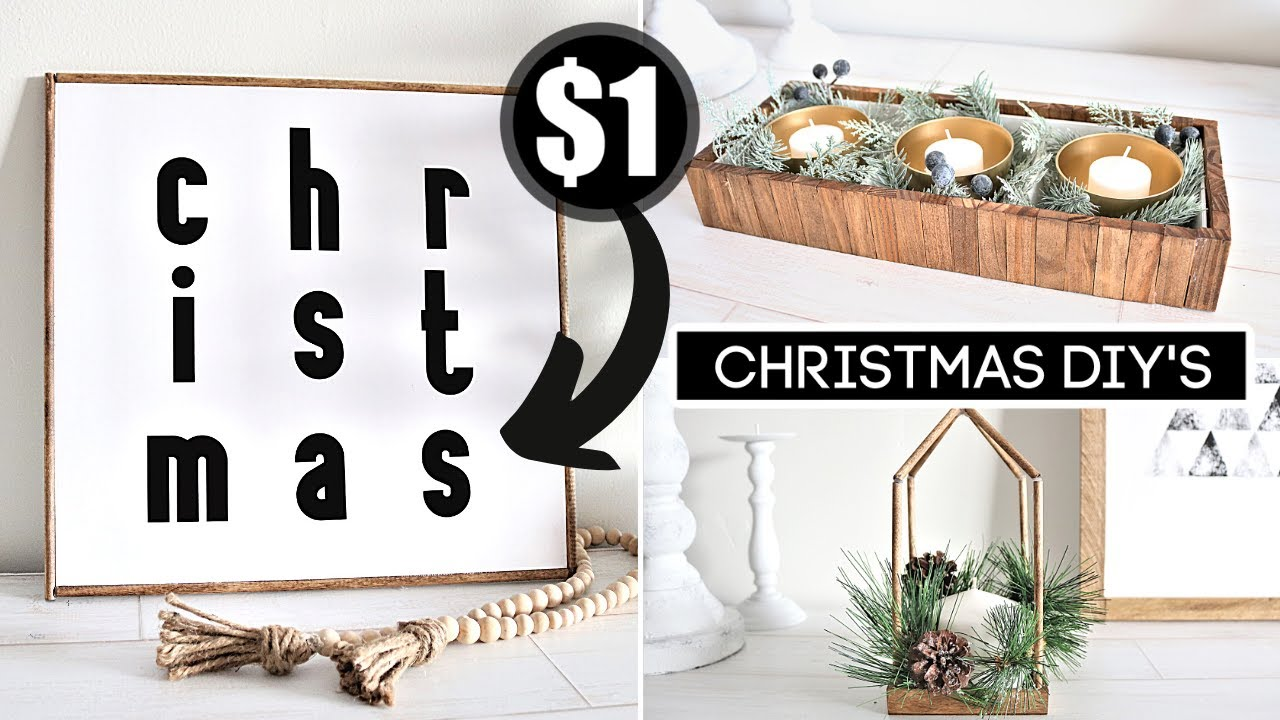 *NEW* DOLLAR TREE CHRISTMAS DIYs (You'll Actually Want To Make!) + SURPRISE