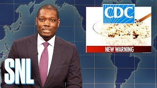Weekend Update anchors Colin Jost and Michael Che tackle the week's biggest news and make each other tell jokes they've never seen to close out 2019.