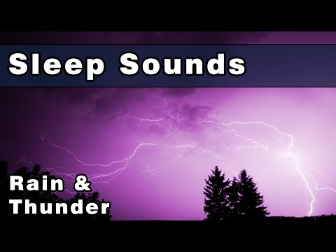 RAIN SOUNDS: Peaceful Thunderstorm Sounds, Sleep Sounds, Rain Sounds For Sleeping, 12 Hours