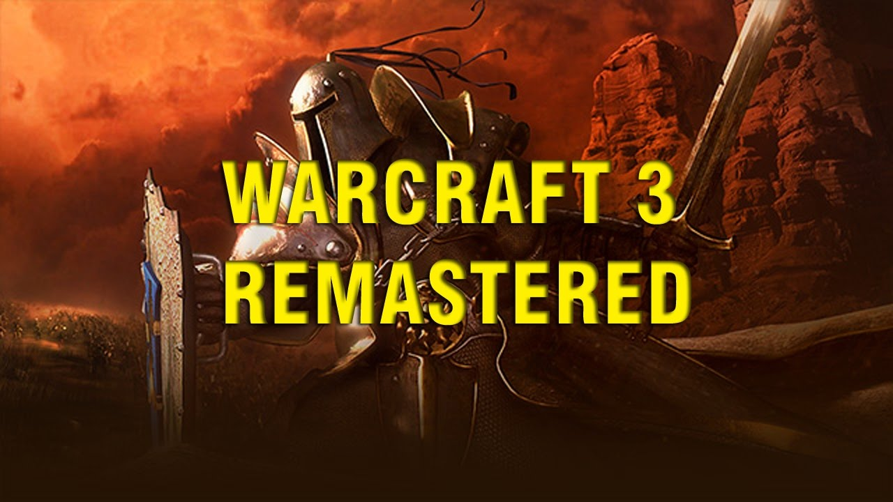 Warcraft 3 Remastered Announcement Coming Soon Youtube