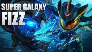 SUPER GALAXY FIZZ - New skin LoL