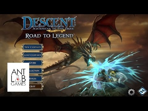 Descent Road to Legend Playthrough Part 1