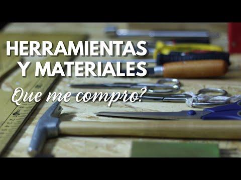 HERRAMIENTAS Y MATERIALES DE TAPICERIA - Que Me COMPRO Para EMPEZAR?