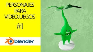 Personajes para videojuegos - Modelado - Animacion - Blender - Directo [Tutorial Español]