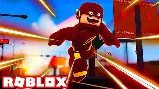 FLASH POR UM DIA no ROBLOX (Flash in Roblox)