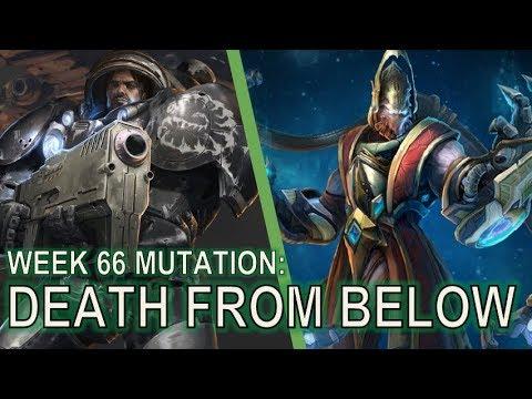 Starcraft 2 Co-Op Mutation #66: Death from Below [Mine, All Mine!]