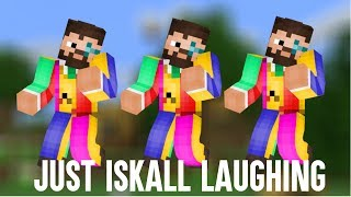 Just Iskall Laughing For 8 Minutes