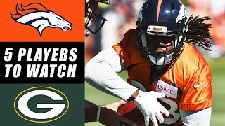 Broncos vs Packers 5 Things to Watch