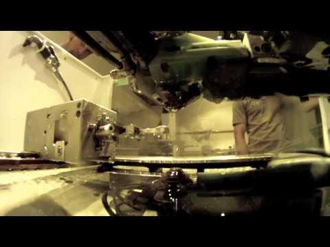 Agie Wire EDM Underwater