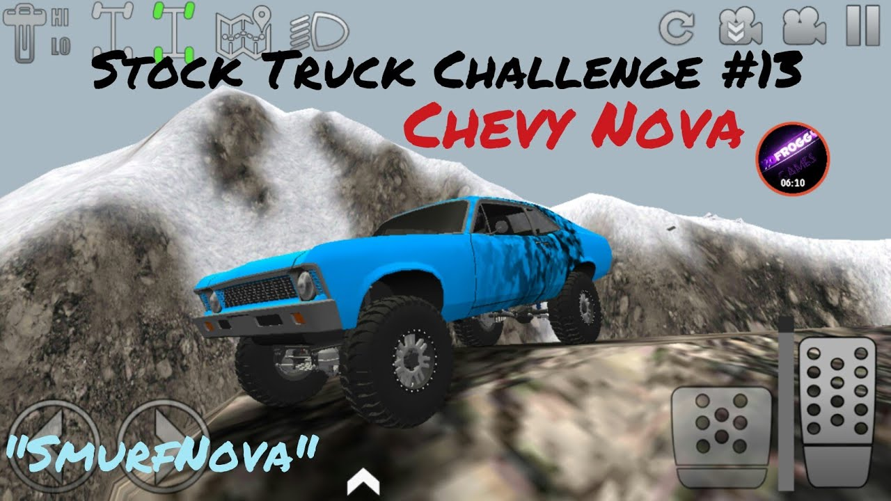 Offroad Outlaws Stock Truck Challenge 13 Chevy Nova Youtube