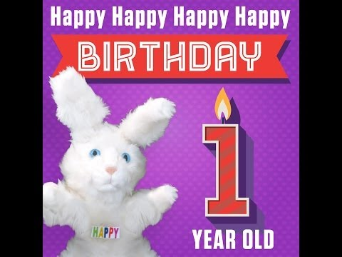 "hoppa-the-happy-bunny-""happy-happy-happy-happy-birthday-(1-year-old)"""