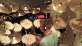 Anthony Eaton Plays Drums! RUSH - The Camera Eye